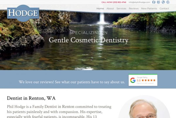 dr phil hodge, phil hodge dentist, dentist website