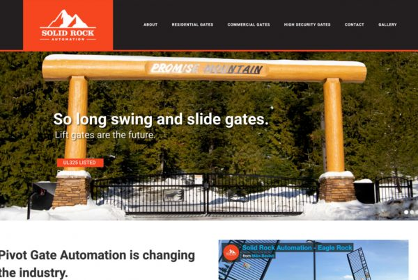 solid rock automation, website design